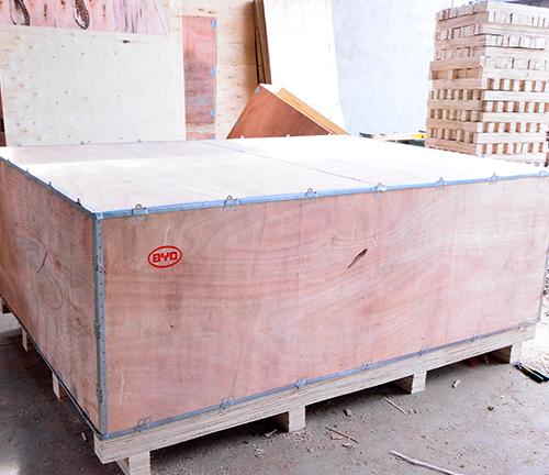 钢边全封箱            长沙木箱