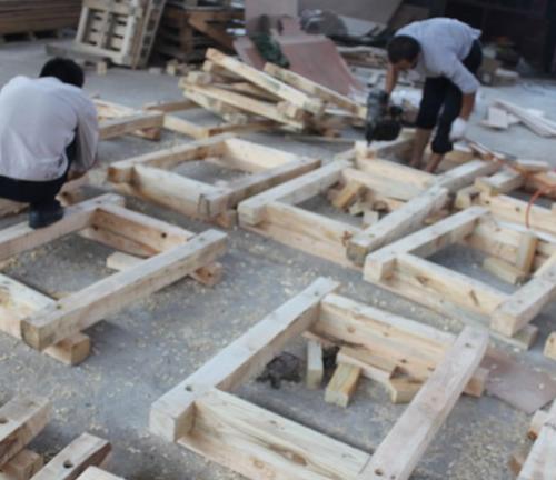 木包装制作过程